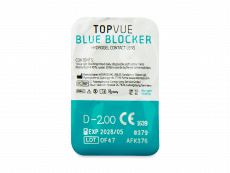 TopVue Blue Blocker (90 lenses)