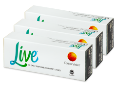 Live Daily Disposable (90 lenses)