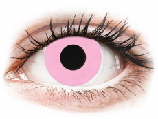 CRAZY LENS - Barbie Pink - power (2 daily coloured lenses)