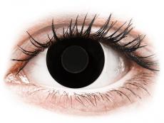 CRAZY LENS - Black Out - plano (2 daily coloured lenses)