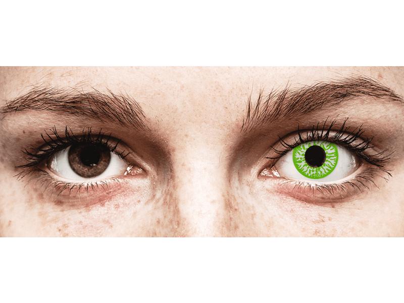 CRAZY LENS - Joker - power (2 daily coloured lenses)