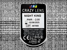 CRAZY LENS - Night King - power (2 daily coloured lenses)