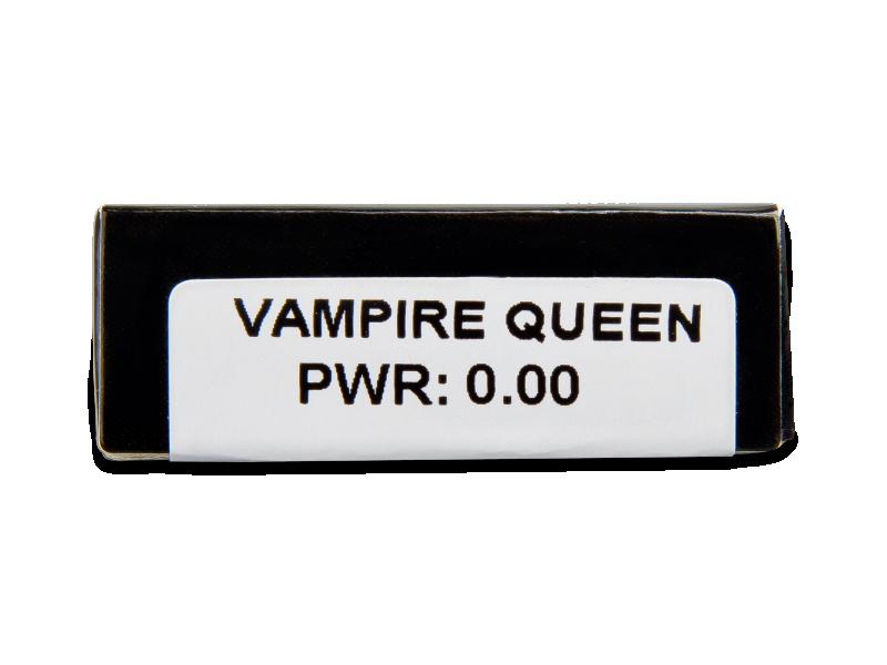 CRAZY LENS - Vampire Queen - plano (2 daily coloured lenses)