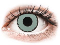 CRAZY LENS - Zombie Virus - plano (2 daily coloured lenses)