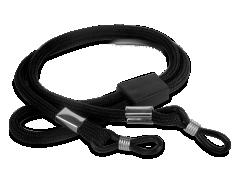 Black strap for glasses