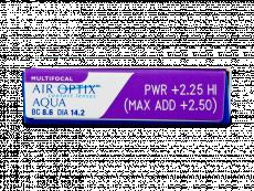 Air Optix Aqua Multifocal (6lenses)