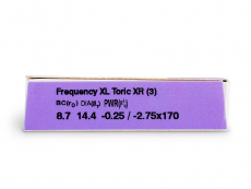 FREQUENCY XCEL TORIC XR (3lenses)