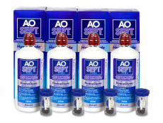 AO SEPT PLUS HydraGlyde Solution 4 x 360 ml